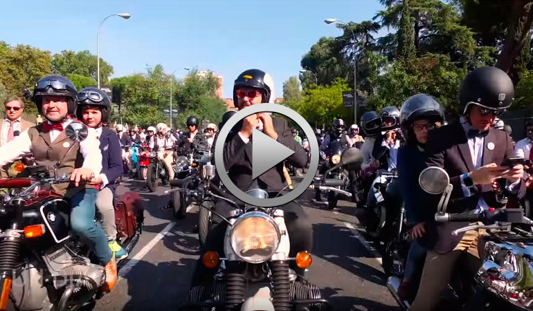 Distinguised Gentleman's Ride 2017 en España