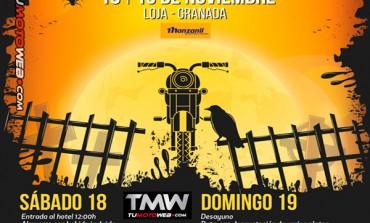 Fiesta Motera Los Infiernos Halloween 2017