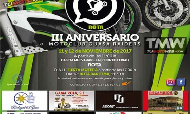 III Aniversario MotoClub Guasa Raiders Rota 2017