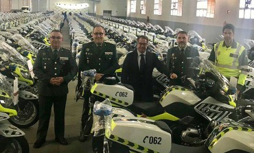 La DGT ya tiene 300 nuevas motos para controles de drogas, alcohol y velocidad
