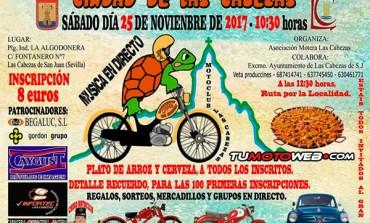 VII Reunión de Motos y Coches Clásicos Ciudad de Las Cabezas 2017