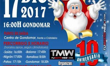 X Ruta Motera de Papa Noeles Os Rillasepas 2017