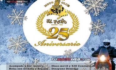 XXV Reunión Invernal Motociclista Riberas del Voltoya 2018