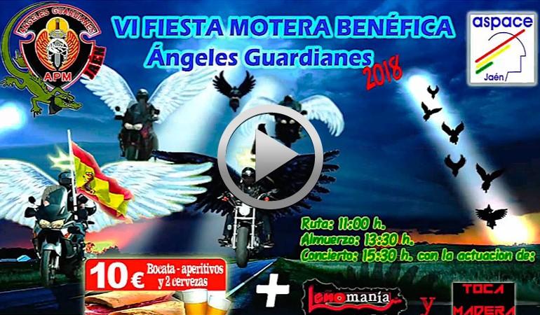 VIDEO PROMO - VI Fiesta Motera Benéfica Ángeles Guardianes APM Jaén 2018