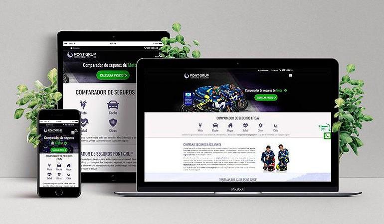 Pont Grup evoluciona con su nueva web