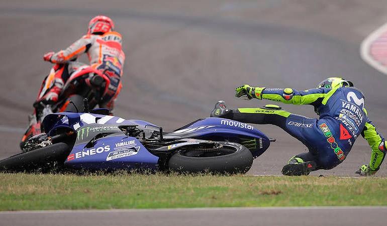 MotoGP 2018 | GP de Argentina | Valentino Rossi: Tengo miedo de estar en pista con Marc Márquez