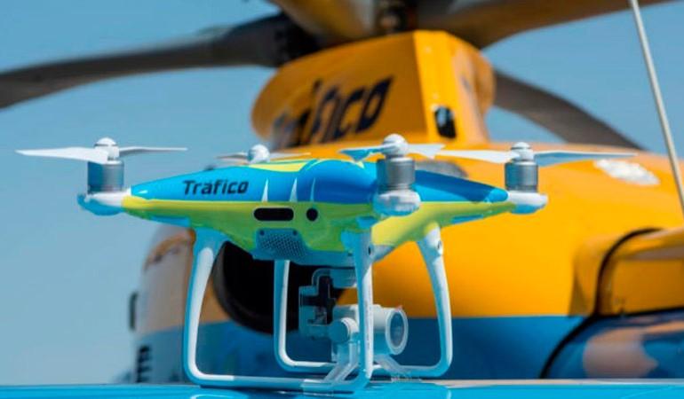 La DGT vigilará las carreteras con drones en el puente del 1 de Mayo