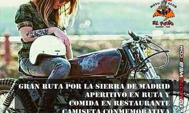 Ruta Mototurística MotoClub El Foro 2018