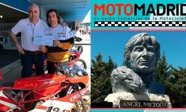MotoMadrid entrega a la Fundación Ángel Nieto la recaudación solidaria obtenida en su última edición