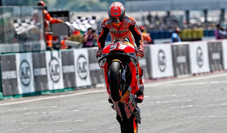 MotoGP 2018 | GP de Francia | Marc Márquez gana su 3ª carrera consecutiva y es mucho más líder de MotoGP