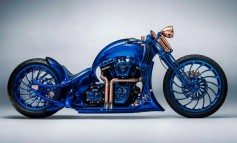Bucherer Blue Edition: La Harley-Davidson de 1,5 millones de euros