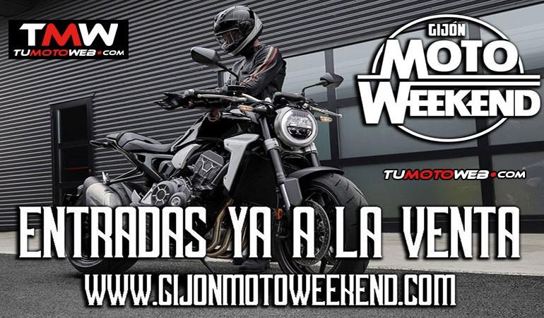¿Aún no tienes tu entrada para el Gijón MotoWeekend 2018?