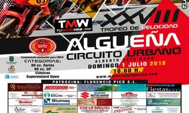 XXVIII Trofeo de Velocidad Urbano ALGUEÑA 2018