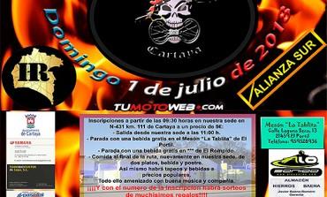 XV Concentración Mototurística Playas de Cartaya 2018