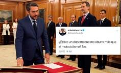 Màxim Huerta, el nuevo ministro del Deporte se aburre con el Motociclismo
