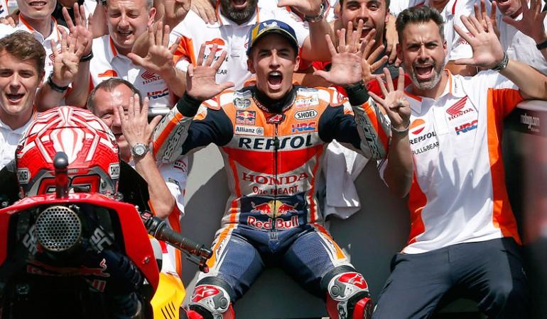 MotoGP 2018 | GP de Alemania | Marc Márquez gana por noveno año seguido en Sachsenring