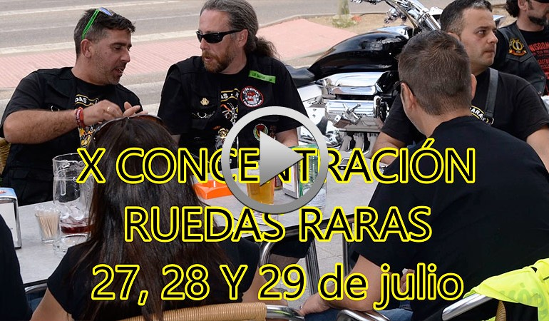 VIDEO PROMO – X Concentración Ruedas Raras 2018