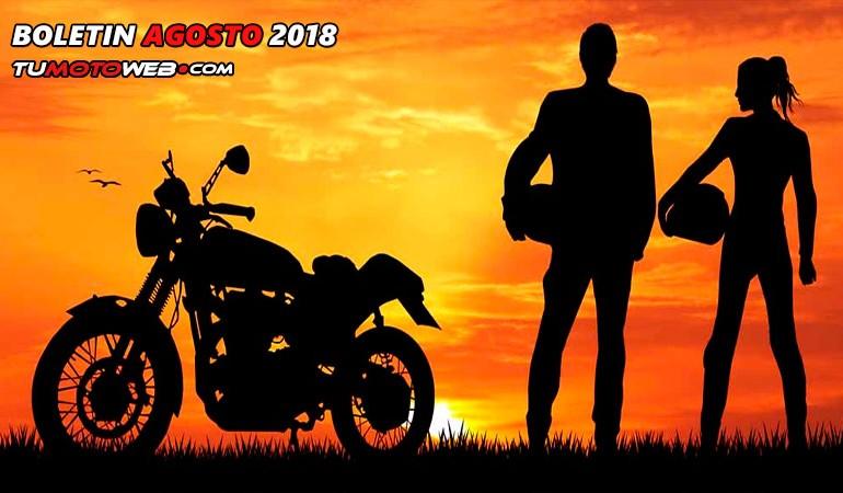 BOLETÍN AGOSTO 2018 – Concentraciones destacadas y Logos del mes