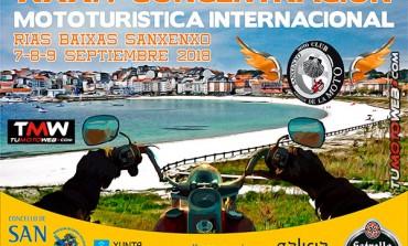 XXXIV Concentración Mototurística Internacional Sanxenxo 2018