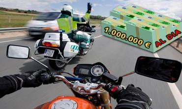 DGT | Ingresa más de 1 millón de euros en multas al día