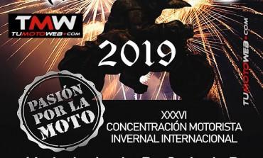 XXXVI Concentración Motorista Invernal Internacional PINGÜINOS 2019