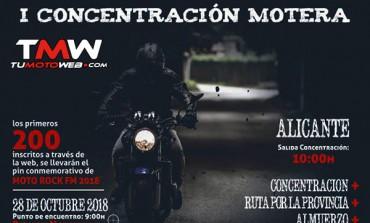 I Concentración Moto Rock FM Alicante 2018