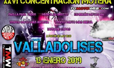 XXVI Concentración Motera Valladolises 2019