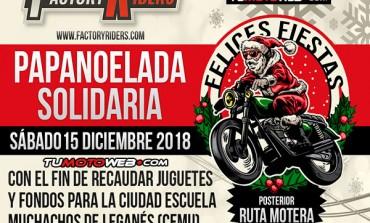 Papanoelada Solidaria Madrid 2018