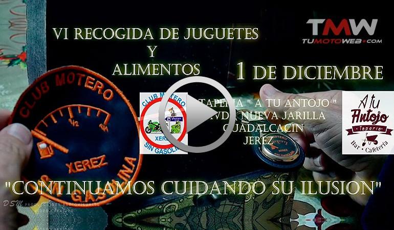 VIDEO PROMO – VI Recogida de Juguetes y Alimentos Club Motero Sin Gasolina 2018