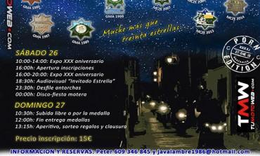 XXX Reunión Libre Estrella de Javalambre 2019