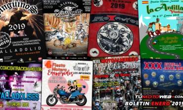 BOLETÍN ENERO 2019 | Llegan las Concentraciones Invernales