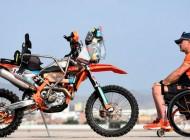 Rally Dakar 2019 | Primer parapléjico que corre en motos