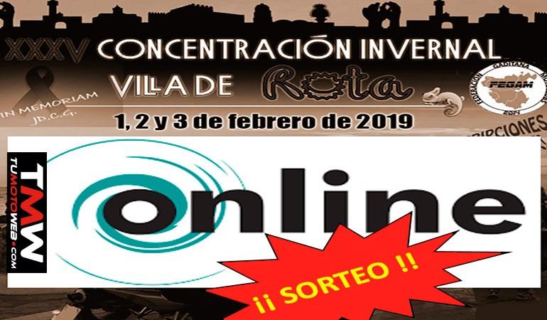 Concentración ROTA 2019   Premio entre los inscritos online