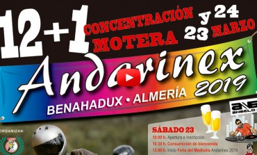VIDEO PROMO - XII+I Concentración Motera ANDARINEX 2019