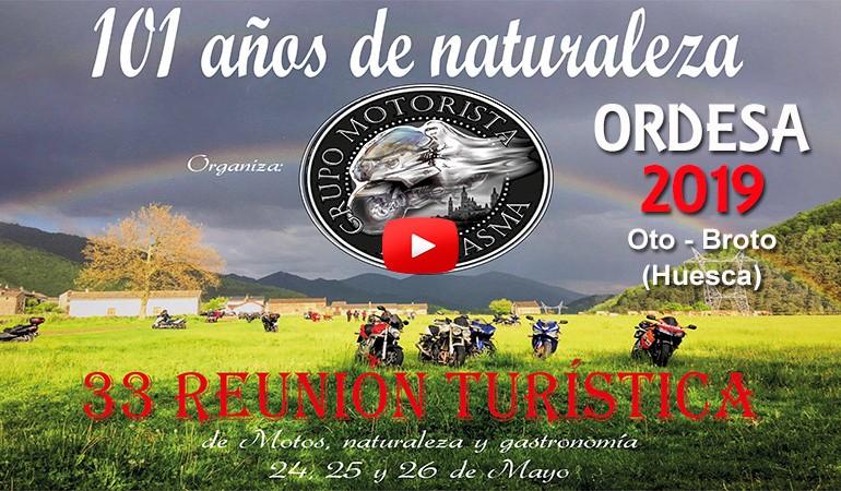 VIDEO PROMO - XXXIII Concentración Mototurística ORDESA 2019
