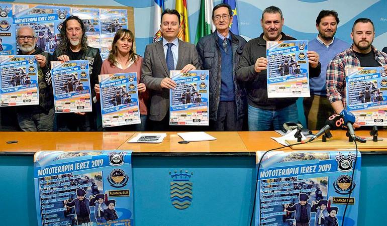 Presentación oficial de Mototerapia Jerez 2019