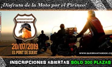 Quebrantabook 2019 | Inscripciones abiertas. Sólo 300 plazas..!!
