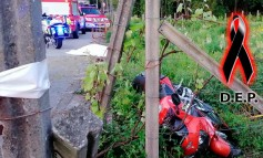 Una motorista muere en Catoira tras chocar contra un poste de hormigón