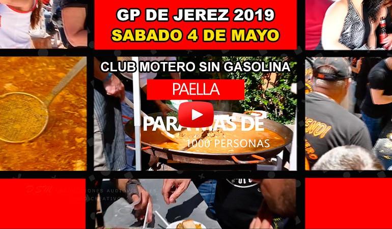 VIDEO PROMO - X Gran Paella Club Motero Sin Gasolina - GP Jerez 2019