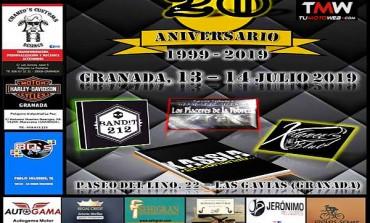 XX Aniversario Apaches MC Granada 2019