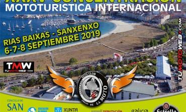 XXXV Concentración Mototurística Internacional Sanxenxo 2019