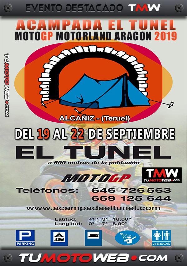 cartel-acampada-el-tunel-19-a-22-motogp-motorland-aragon-alcaniz-teruel-septiembre-2019