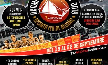Acampada Cubierta Recinto Ferial Alcañiz MotoGP 2019