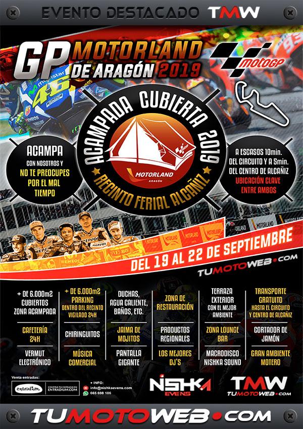cartel-nishka-evens-motoacampada-cubierta-alcaniz-septiembre-2019