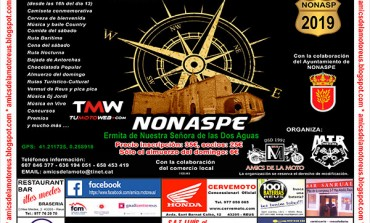 IX Concentración Motera Fora de Lloc Nonaspe 2019
