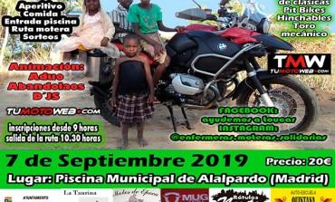 II Ruta Motera Solidaria Ayudemos a Toucar 2019