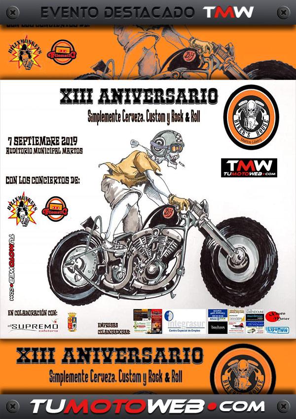 cartel-bikers-house-martos-jaen-septiembre-2019