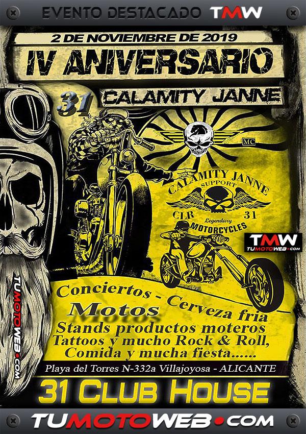 cartel-aniversario-calamity-janne-mc-sureste-villajoyosa-alicante-noviembre-2019