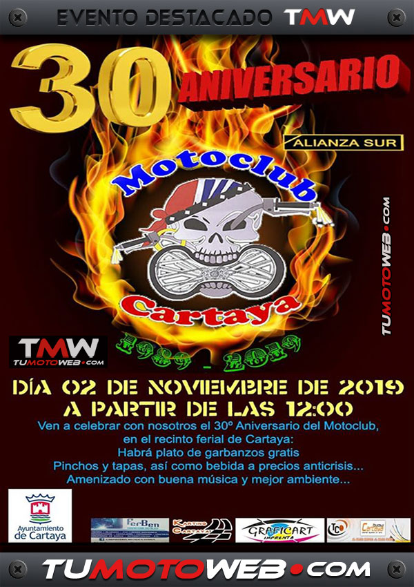 cartel-xxx-aniversario-mc-cartaya-huelva-noviembre-2019