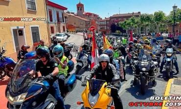 BOLETÍN OCTUBRE 2019 | Concentraciones Moteras Destacadas, Logos del Mes...